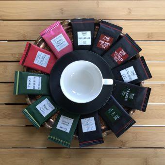 Čaji v kavarni Ruske dače