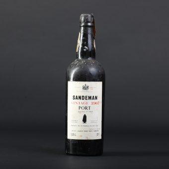 Steklenica porta Sandeman letnik 1967