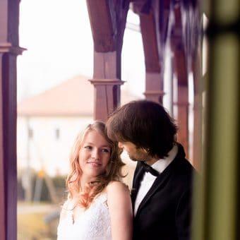 Poročno fotografiranje na Ruski dači
