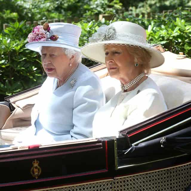 Sestrični princesa Alexandra in kraljica Elizabetha II