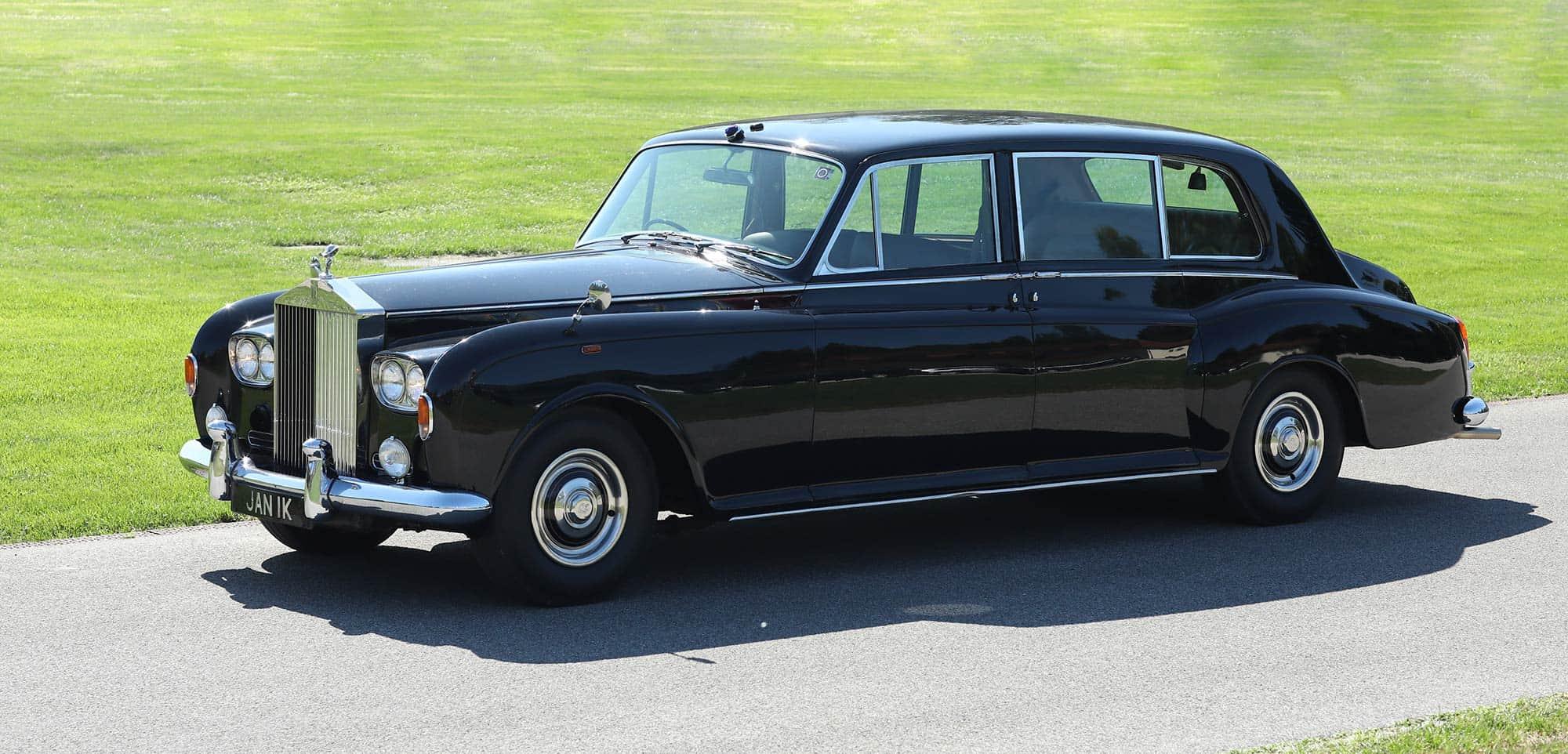 Kraljevsko udobje Rolls Royce