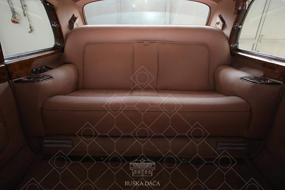 Rolls Royce in kraljevsko udobje