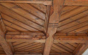 Razkrit originalni strop