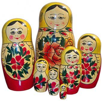 Tradicionalna ruska babuška ali matrjoška