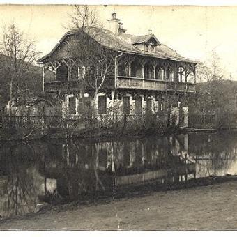Ruska dača leta 1925 lastnik Vokač Viktor
