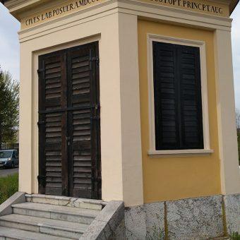 Paviljon na Cesti dveh cesarjev, zgrajen za ljubljanski kongres leta 1821.