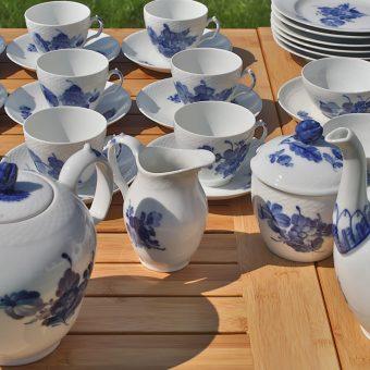 Porcelan Royal Copenhagen na Ruski dači
