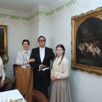 Petrič z družino