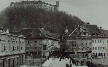 Obnova Ljubljane po potresu 1895 in Ruska dača