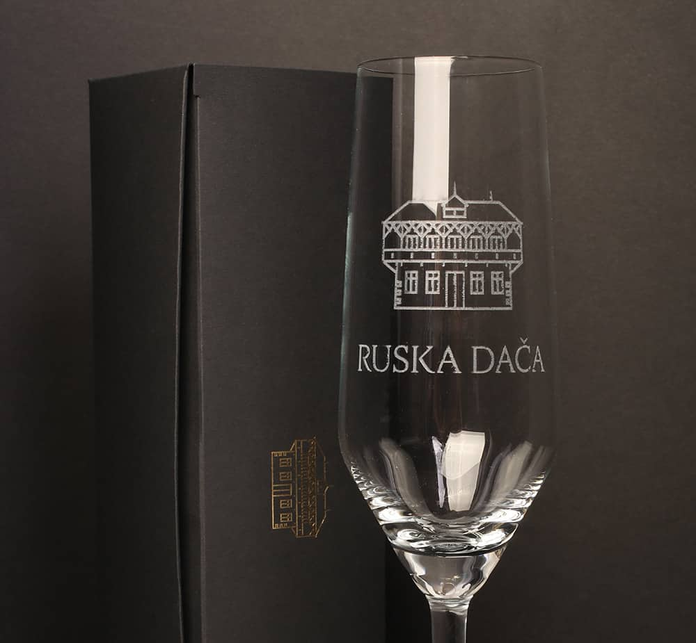 Kozarec Ruska dača in darilna embalaža